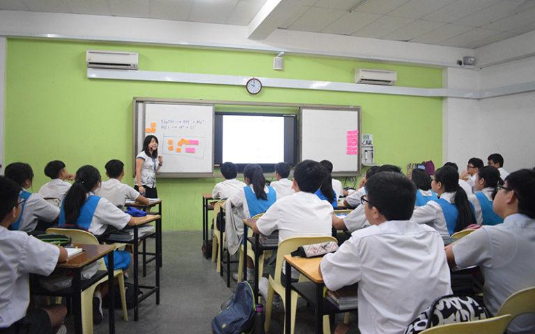 E02 B座教学楼课室