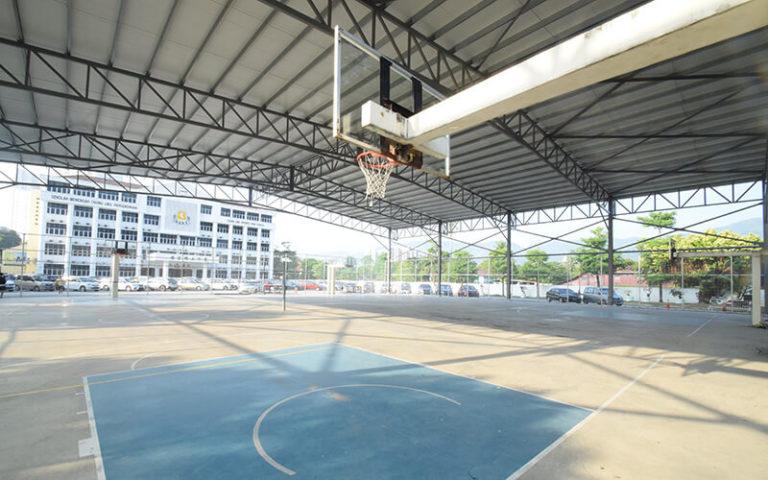 有盖篮球场及排球场