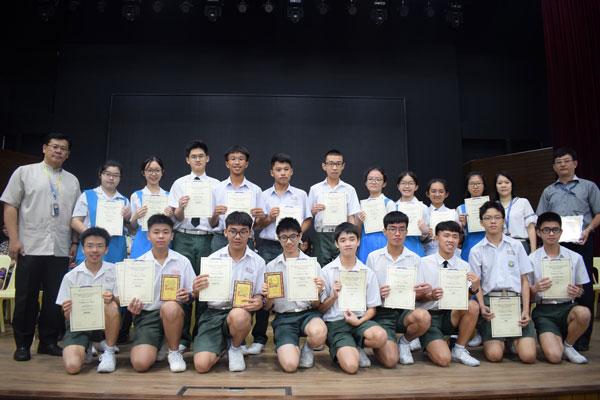 2019年陈景润怀中学数学比赛-01